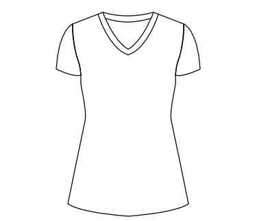 V-Neck(Ladies)